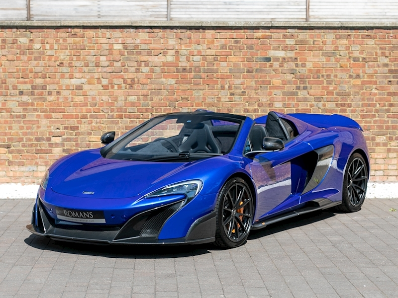 McLaren 675LT Spider - MSO Burton Blue (MSO Defined Paint)